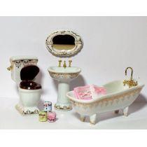 Puppenhaus-badezimmer-möbel - Artikel > günstig auf Wossiland