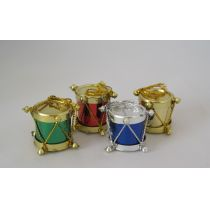 Trommel bunt 4er Set Puppenhaus Dekoration Miniaturen 1:12