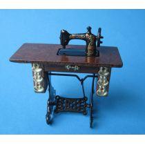 Edle Nähmaschine  Puppenhausmöbel Wohnzimmer Miniaturen 1:12