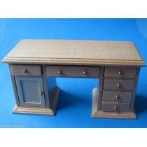 Schreibtisch Eiche hell Puppenhaus Möbel Miniaturen 1:12