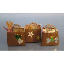 Geschenk Taschen gefüllt Puppenhaus Miniaturen 1:12