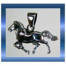 Schmuck - Kettenanhänger Pferd - Schmuckanhänger - Sterlingsilber