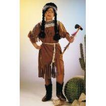 Indianerin - Kinderkostüm - Kleid