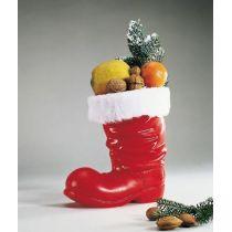 Stiefel - roter Nikolausstiefel zum Befüllen- ca. 14,5 cm