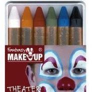 Make-up - 6 Schminkstifte in Schachtel