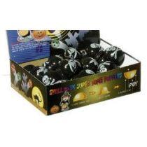 Piraten-Popper - schwarzer Poppball mit Piratenmotiv - Hüpfer
