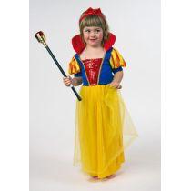 Märchenprinzessin - Kinderkostüm - Kleid mit Stehkragen