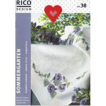 Rico Stickheft Nr. 38 Sommergarten