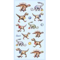 Softy-Sticker  Dinosaurier