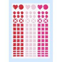 Mosaik-Stickers Design 1
