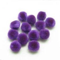 Pompoms 20 mm, 50 Stück, lila