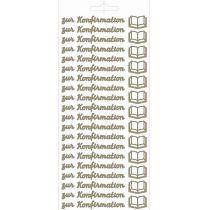 Sticker zur Konfirmation