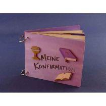 Memory Buch Meine Konfirmation, Gästebuch, Fotoalbum zum  selbergestalten