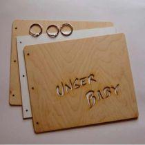 Memory Buch Unser Baby, Gästebuch, Fotoalbum zum  selbergestalten