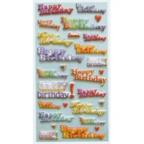 Softy-Sticker Happy Birthday