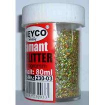 Diamant Flitter hologramm verschiedene Farben 80 ml
