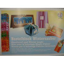 Bastelblock Winterzauber