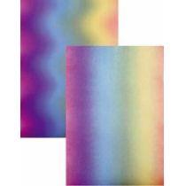 Regenbogentransparentpapier 115g/ m²