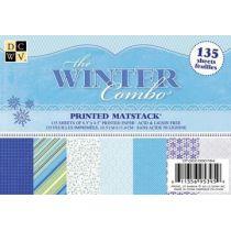 Scrapbook 11,4X16,5 cm  The winter combo / 135 Bogen