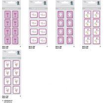 Kreativ Sticker Kelch Serie  Glory, brombeer, selbstklebend