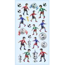 CREApop® Softy-Sticker Fußball II