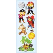 CREApop® Sticker Piraten II