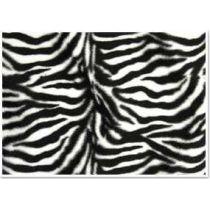 Plüschkarton Zebra