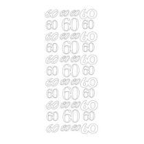 Sticker 60 gold
