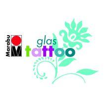 GlasTattoo satinierte Farbtöne