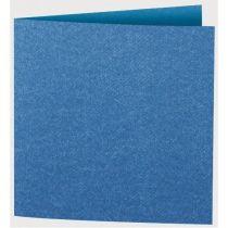 Jeans Karten quadratisch dark blue