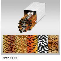 Transparentpapier Leopard 115g/m² Rollenware