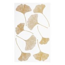 Hobby-Design Sticker Blätter IV gold