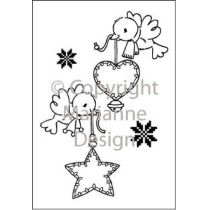 Eline s clear stamps flying decoration