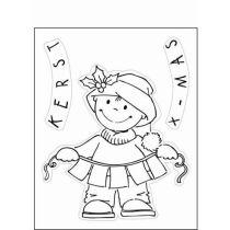 Clearstamp toddler X-mas