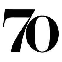 Zahl 70