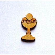 Holz Kleinteile Kelch mit Hostie 30mm