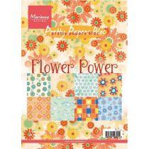Papierblock Flower Power A5