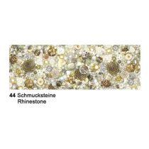 Fotokarton Schmucksteine  49,5 x 68 cm
