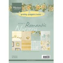 Papierblock Romantic Nursery A5