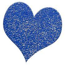 Embossingpulver glitter blau