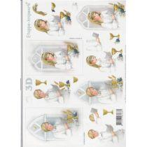 3 D Bogen Kommunon/ Konfirmation Junge / Mädchen