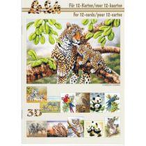 3D Buch Tiere