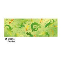Extra starkes Transparent Papier 50 x 61 cm Fauna, 115 gr, Gecko