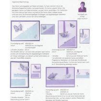 Schmetterlingspaket lila/blau für 16 Karten
