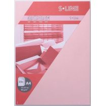 S-line A6 Karte, passendes Kuvert und Briefbogen je 5 Stück - blüte
