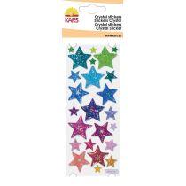 Chrystal-Sticker Stern, groß, Expoxysticker