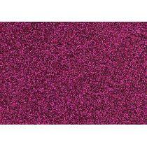 Glitter-Bügelfolie pink