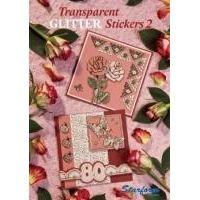 Transparent Glitter Stickers 2
