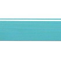 Verzierwachsstreifen, 20 cm x 1 mm türkis