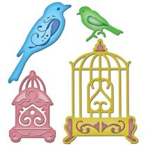 Spellbinder Shapeabilities Bird Sanctuary S5-033